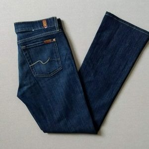 7 For All Mankind BootCut Jeans 30 32x31